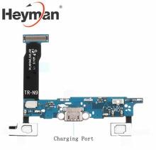 Heyman гибкий кабель для Samsung Galaxy Note 4 SM-N910W8 зарядный порт плоский кабель запасные части