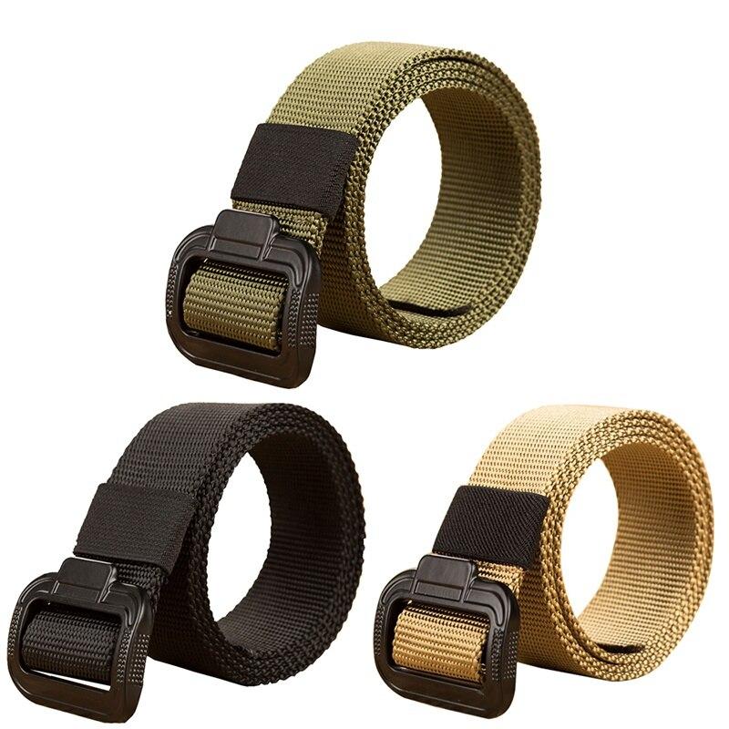 135CM ניילון חומר Mens חגורת צבאי חיצוני טקטי זכר חגורות לגברים יוקרה באיכות גבוהה