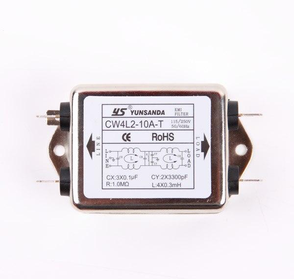 EMI Power Filter CW4L2-20A/6A/10A/3A-T Dual Filter Purifier CW4L2-20A CW4L2-6A CW4L2-10A CW4L2-3A Dual Filter Purifier t kuula kansanlaulu op 3a no 4
