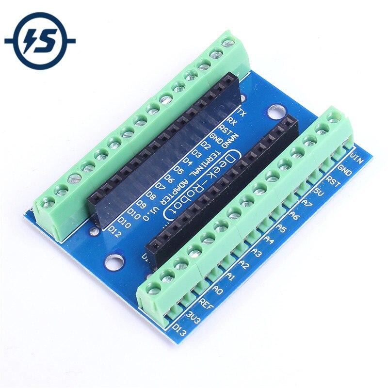 Нано-винтовой щит для Arduino, терминальн�