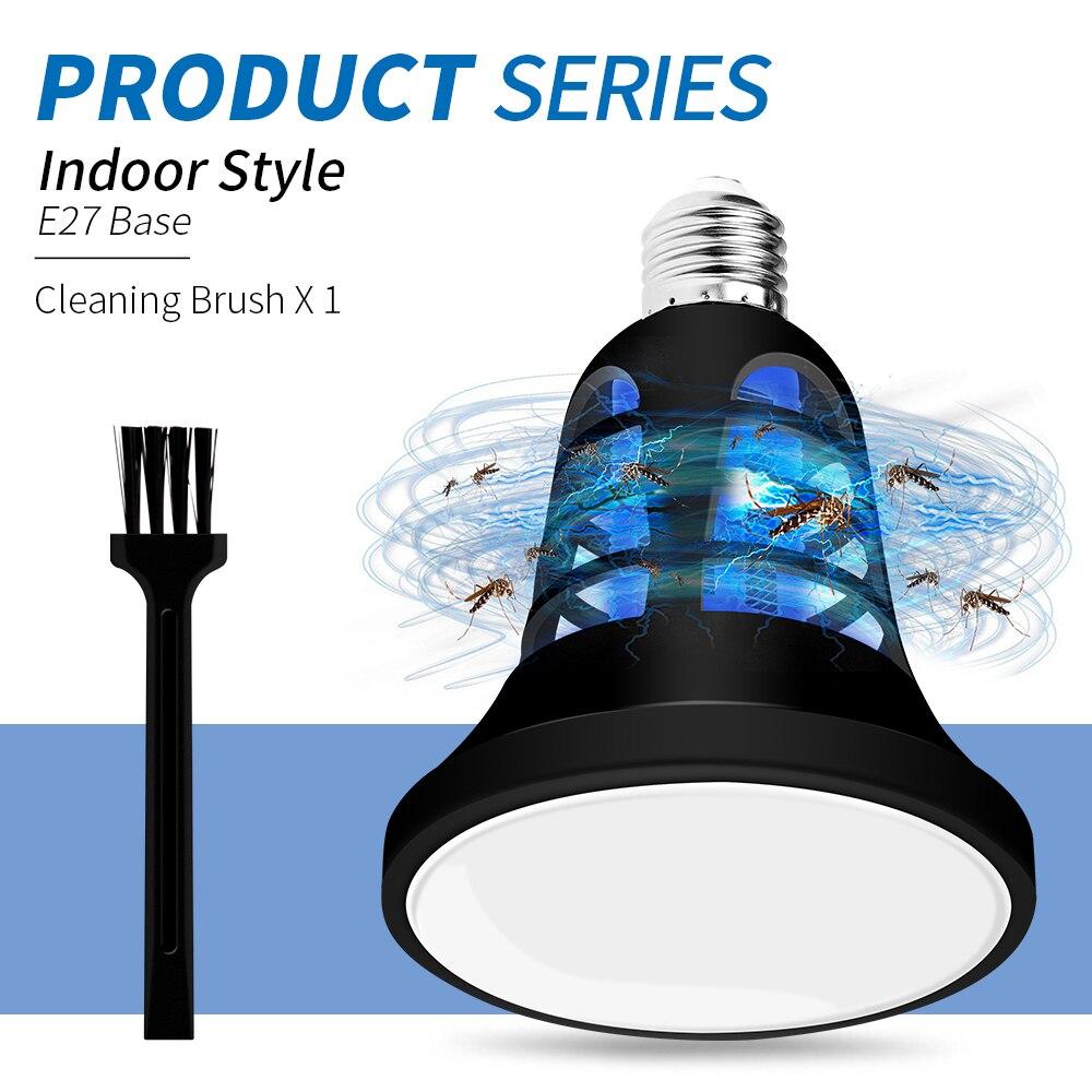 E27 LED Anti insecto luz 220V lámpara LED USB Mata Mosquito Eletrico...