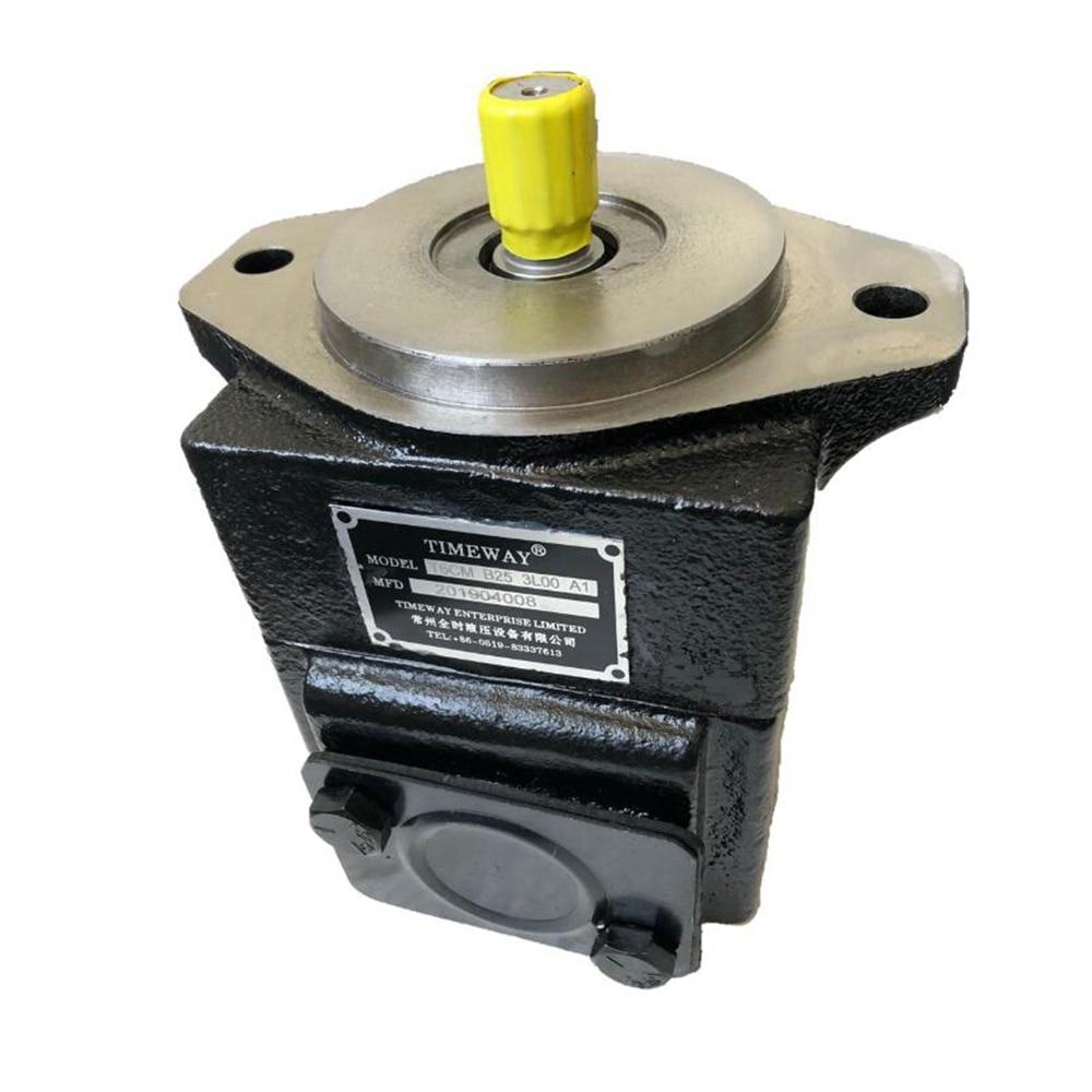 T6 Pump T6CM Cartridge Vane Pump One stage Hydraulic Parts T6CM-B25-3L00-A1 Single Hydraulic Oil Pump