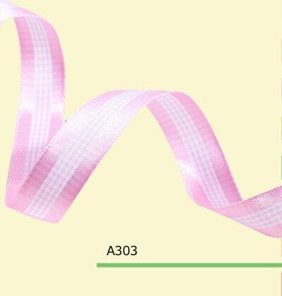 Cinta de tafetán de 100 yardas/rollo 1 pulgada (25mm) rosa para lazos de pelo DIY