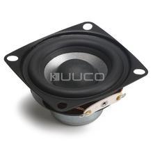Full-range-HiFi Lautsprecher 2 Zoll 8 ohm Lautsprecher 12W 88dB (Quadratische Form) audio Lautsprecher für multimedia lautsprecher/Auto verstärker