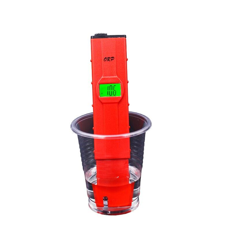 Top qualität ORP Meter Oxidation Reduktion Potenzial Analyzer Redox Tester Wasser Behandlung Monitor mit schwarzlicht 21%