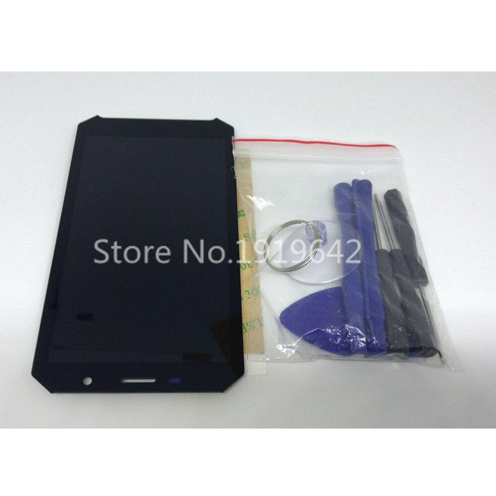 Regalo de cristal templado + doogee-s60 1920x1080 5,2 pulgadas, conjunto de pantalla LCD + digitalizador de pantalla táctil, Panel de vidrio de reparación
