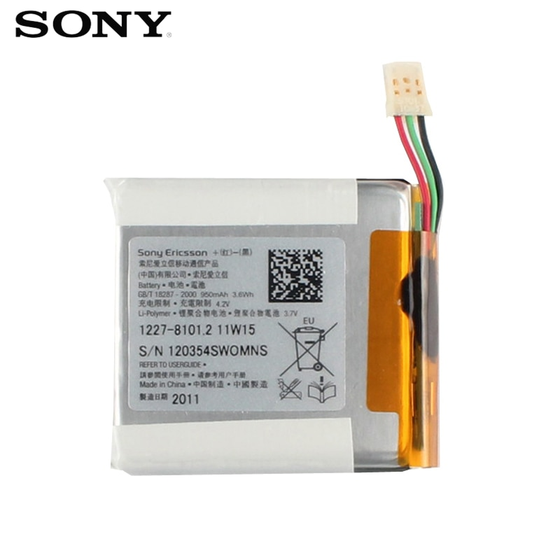 Original SONY Battery For Sony E10i X10 mini X10MINI Genuine Replacement Phone Battery With Free Tools 950mAh enlarge
