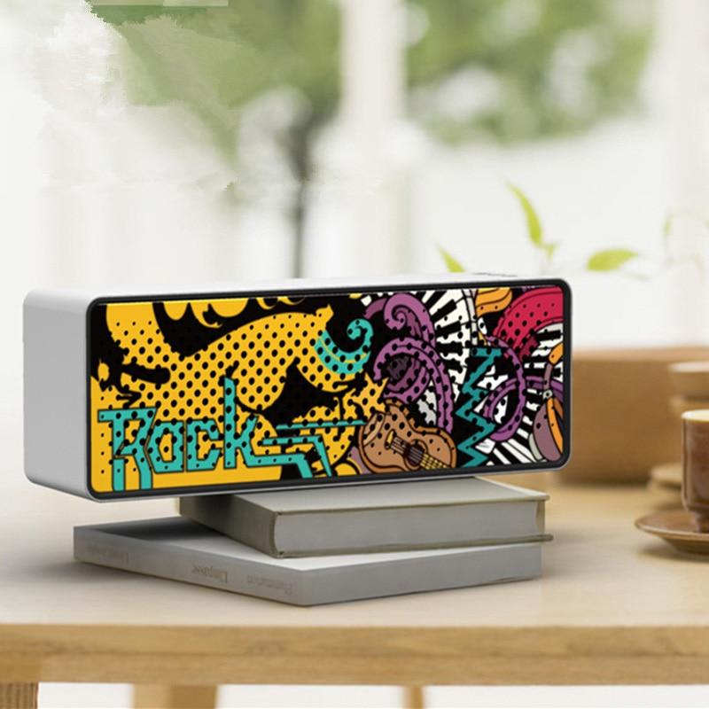Xeno Graffiti  Portable Bluetooth Speaker Wireless Loud speaker Soundbar 10W stereo Sound Music Surround Outdoor Speakers