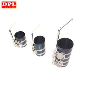 Image 2 - Инструмент для компрессора поршневого кольца двигателя автомобиля, регулируемый инструмент для установки ленты