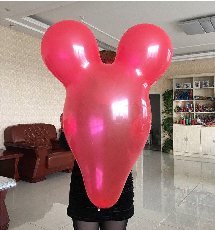 Большой воздушный шар с Микки Маусом, 36 7 г, 10 шт./партия, опт, новые цветные детские игрушки, украшения для дня рождения