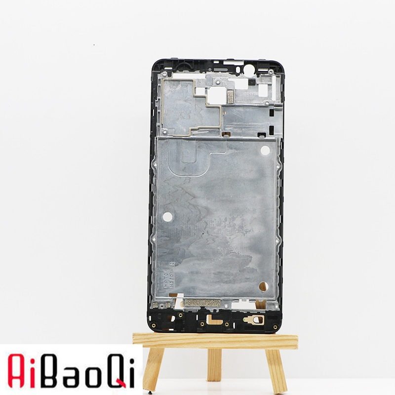 AiBaoQi nuevo Original LCD marco frontal reemplazo de montaje para 5,5 pulgadas ZOPO ZP952-Flash X Plus Teléfono + 3 M adhesivo