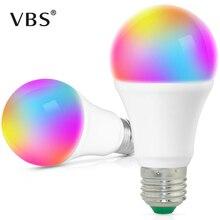 E27 LED 5 W/10 W/15 W 16 couleur changeante ampoule magique 220V 110V RGB lampe à distance Smart Light lampe Dimmable mémoire + IR télécommande