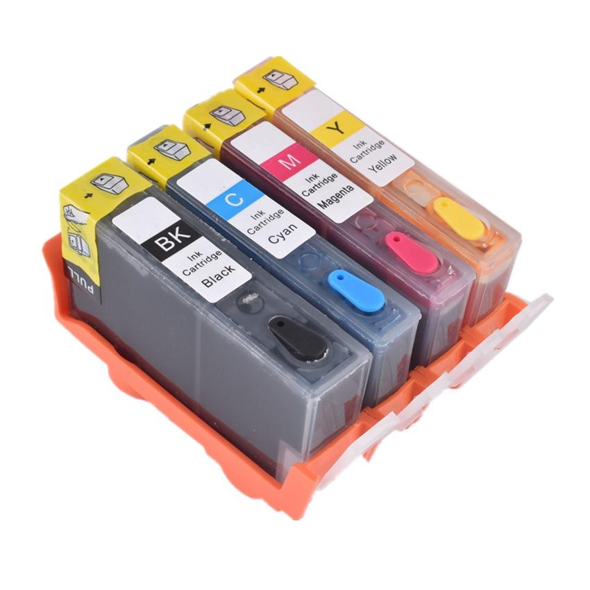 BLOOM совместимый для hp 178 многоразовый чернильный картридж для hp Photosmart B209a B210a Deskjet 3070A 3520 Officejet 4620 принтер