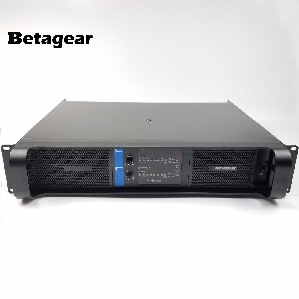 Betagear-مضخم طاقة احترافي ، BT14000 ، مرحلة 2x2350 واط لمضخم صوت فائق السرعة ، مجموعة خطية ، أمبير ، gruppen