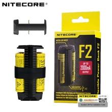 NITECORE F2 F1 elastyczny Bank mocy 2A inteligentny akumulator litowo-jonowy IMR 2 gniazda USB ładowarka lekkie przenośne źródło zasilania Adapter