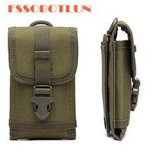 Sports de plein air taille sac armée Camo crochet boucle ceinture pochette étui housse pour Caterpillar Cat S61 S60/chat S40/chat S30 S41 S31