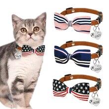 Collier pour chien chat chiot personnalisé   Petits colliers pour animaux de compagnie, étiquette didentification gravée Anti-perte réglable, personnalisée pour petits chats chiens