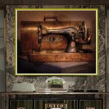 GLymg 5D DIY Elmas Boyama DİKİŞ MAKİNESİ Boyama Elmas Nakış Nakış Çapraz Dikiş 3d Ev Duvar Sanatları Dekor
