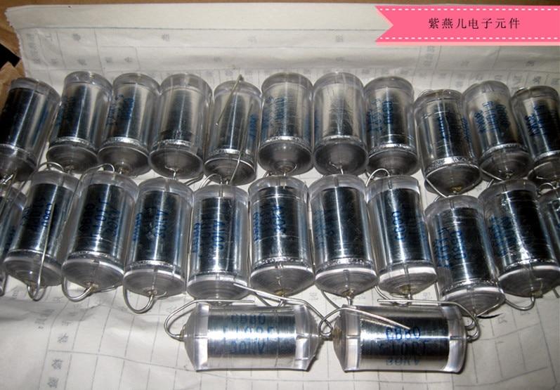 Новый высоковольтный полистирольный пленочный конденсатор CB80-30KV-510PF/напряжение doubler выпрямительный конденсатор