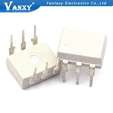 10 pièces 4N26 DIP6 sortie Transistor vanxy optocoupleurs Phototransistor Sortie