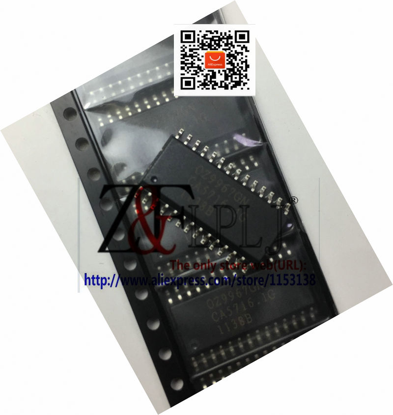 OZ9967GN OZ9967 GN OZ9967GN-B-0-TR Original Novo 20 pçs/lote