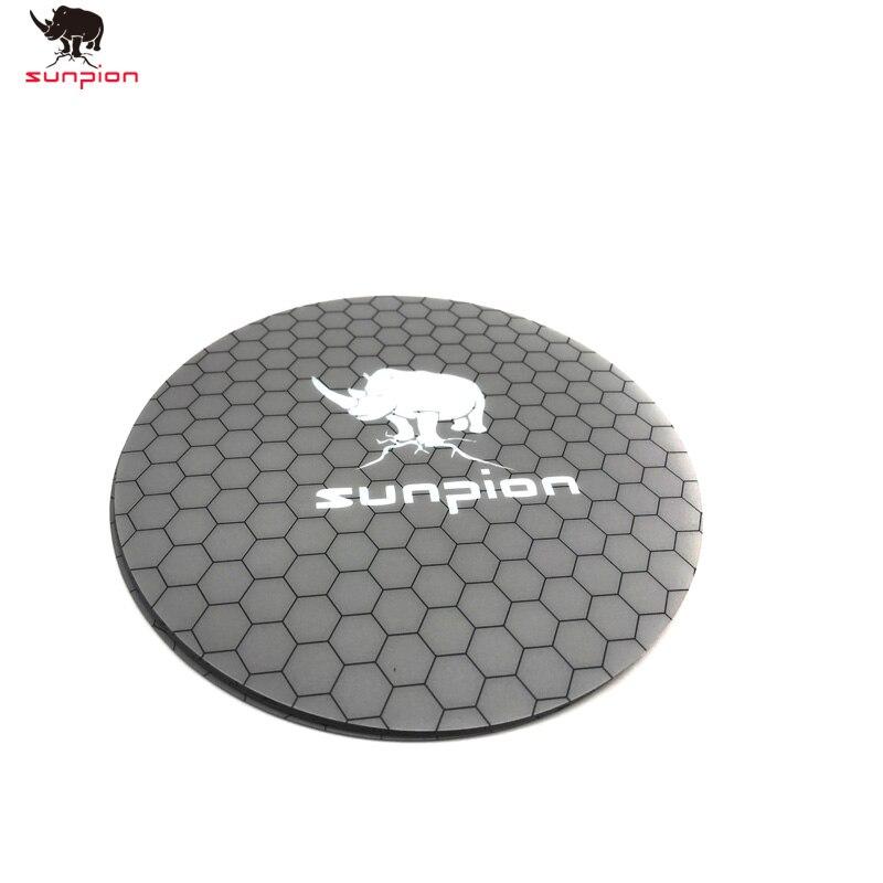 Cama adhesiva de calor de impresora 3D con cinta, cinta de impresión redonda de 200mm, placa de construcción, cinta para impresora 3D Kossel