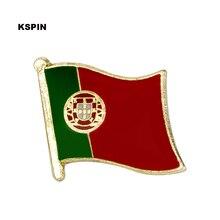 Португальский флаг нагрудные значки для одежды в патчи Rozety Papierowe рюкзак со значком KS-0146