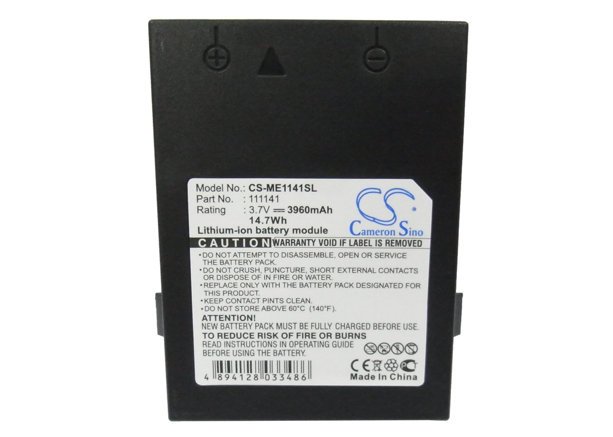 Batería de 3960mAh para Ashtech CX GIS-GPS Receiv, para Magellan MobileMapper CE, CX, Promark 3, Thales CX, Thales MMCE