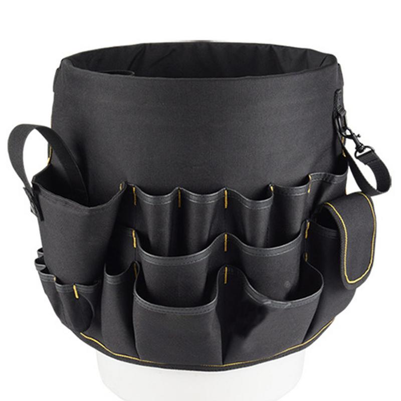 New Hot Sale Hardware Tool Bucket Bag Multi-Function Oxford Cloth Repair Kit Tool Organizer Storage Bag