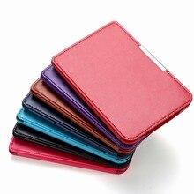 1pc PU leder abdeckung schutzhülle für pocketbook touch lux 3 Rubin Rot für pocketbook 614 plus 615/ 624/625/626 ereader