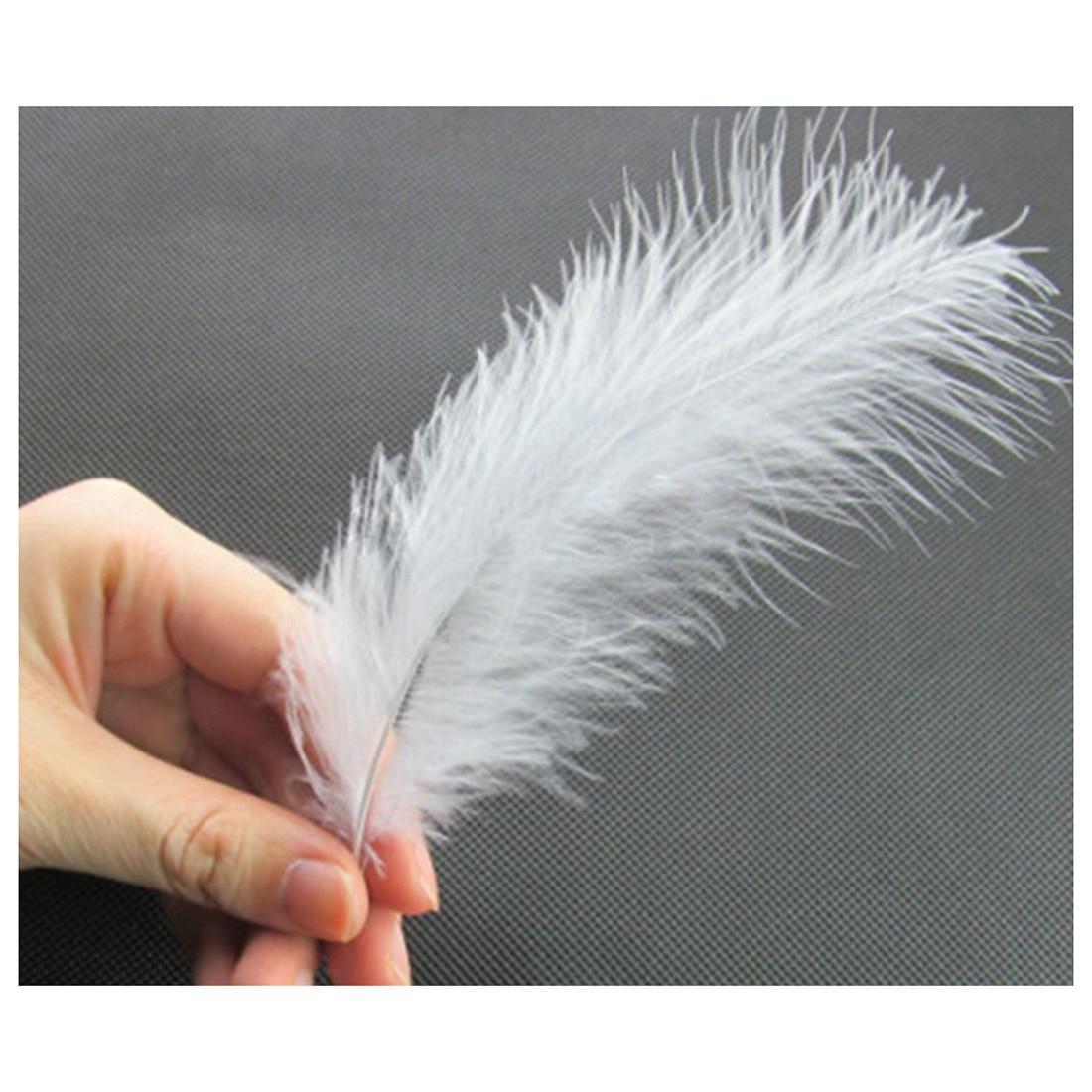 8-15 см 100 шт белые пушистые перья вечерние украшения для свадьбы украшения своими руками декоративные аксессуары перья