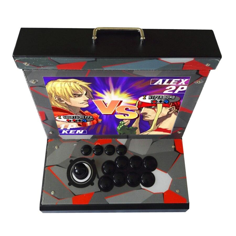 Proveedores de China Doble joystick controlador de juego con juego múltiple 1300 en 1 tablero de juego arcade