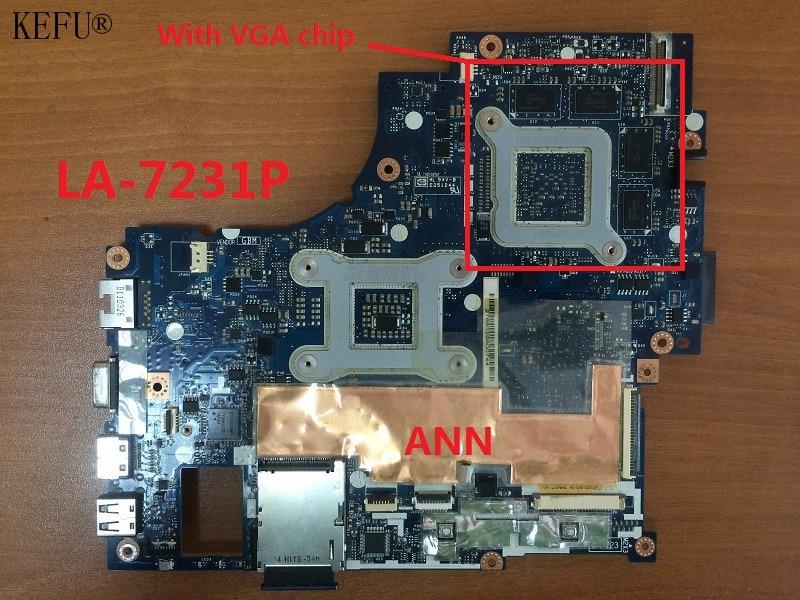 KEFU 100% Working Laptop Motherboard For Acer 4830 4830TG P4LJ0 LA-7231P System Board fully tested