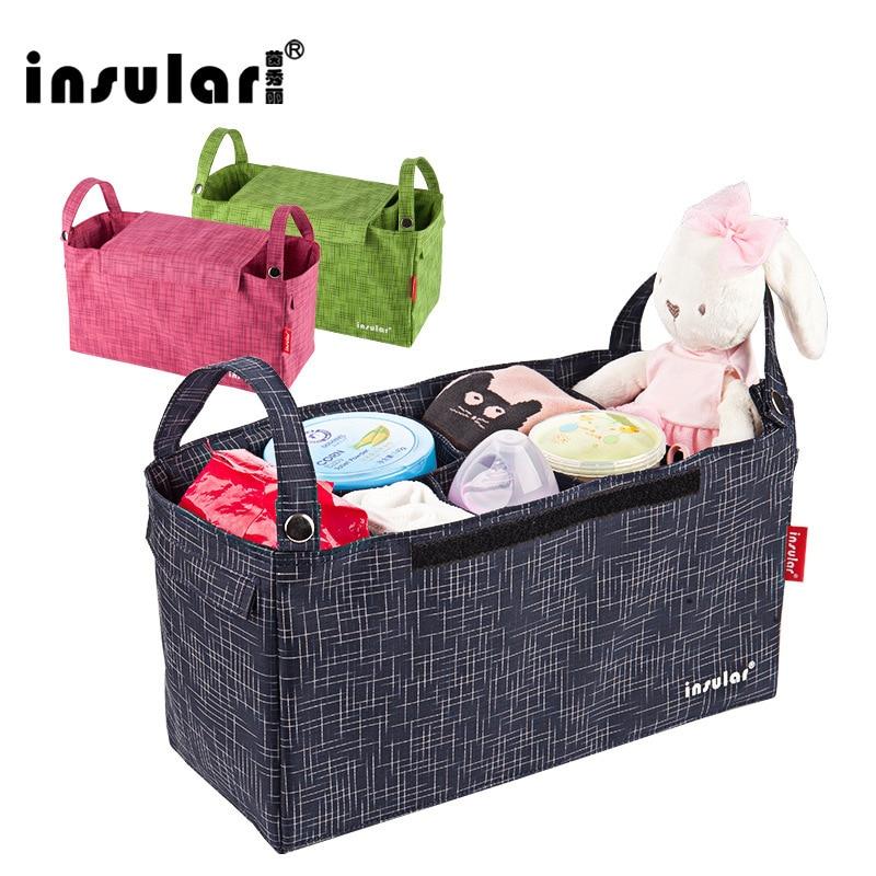 Многофункциональная сумка для мамы, Детская сумка для автомобиля, товары для мам и детей, водонепроницаемая нейлоновая сумка для мам, дорож...