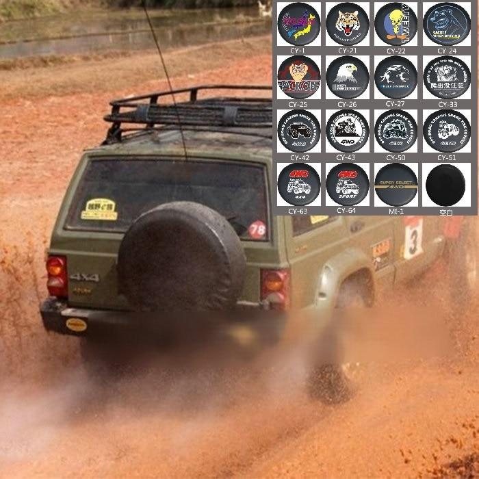 Universal Spare Wheel Tire Cover PVC Leather For Jeep Ford Nissan Kia Hyundai Hummer Suzuki Mitsubis