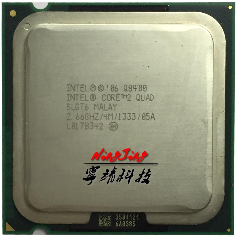 Intel Core 2 Quad Q8400 2.6 GHz Quad-Core CPU Processor 4M 95W LGA 775