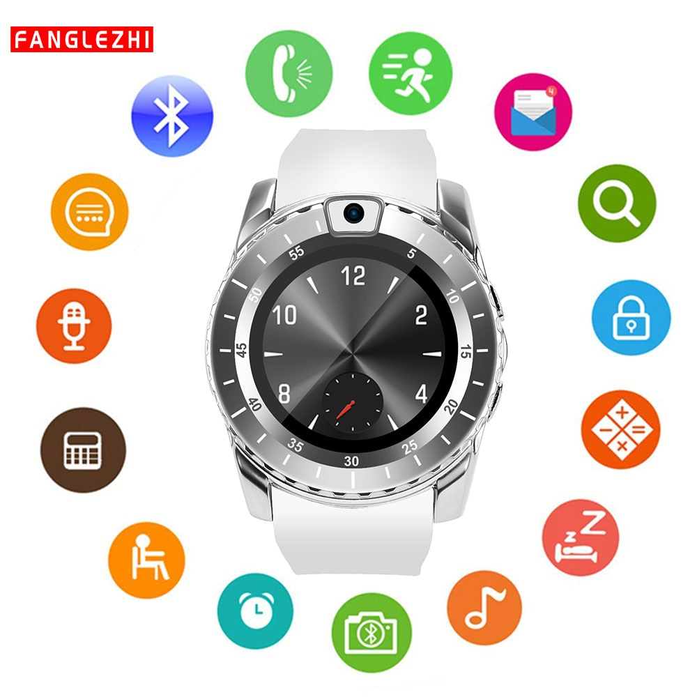 V8s Bluetooth montre intelligente téléphone montre sport Smartwatch suivi étanche avec carte SIM pour Android Samsung Huawei Sony montre