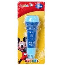 أدوات ديزني المعتمدة سلسلة ميكي/الأميرة صدى ميكروفون الموسيقى هدية للأطفال