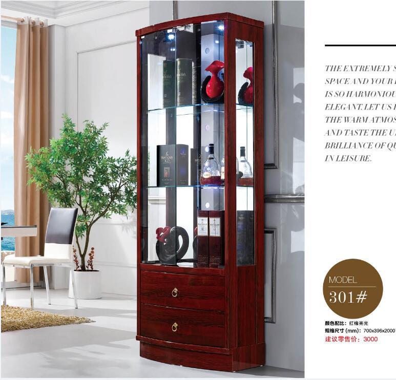 خزانة عرض حديثة 301 # ، أثاث غرفة المعيشة ، خزانة عرض النبيذ