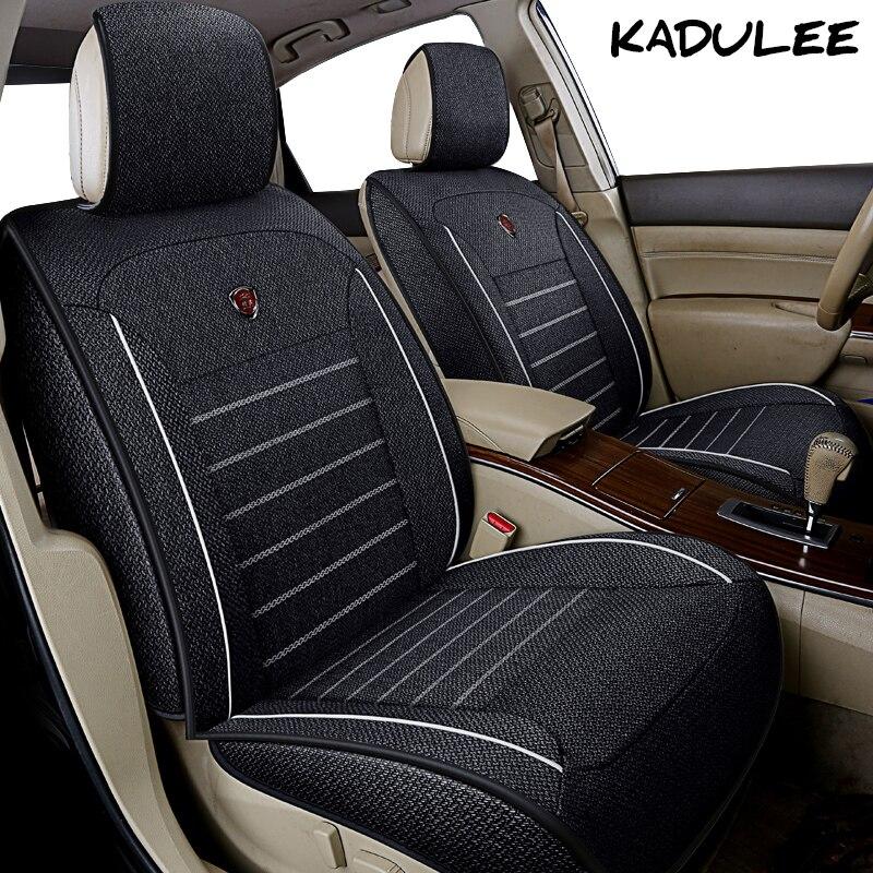 KADULEE Lino coche set de funda de asiento para fj cruiser geely emgrand ec7 mk atlas accesorios de Auto protector de asiento de coche-estilo
