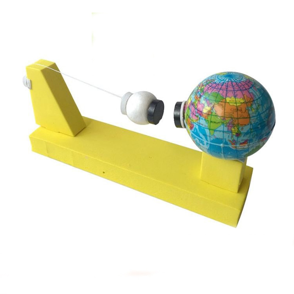 earth ceremony magnetic suspension motor solar motor mendocino motor teaching model scientific experiment DIY Earth Moon Gravity Geography Model Kids Scientific Experiment Teaching Toys Kits Children's Educational Toy