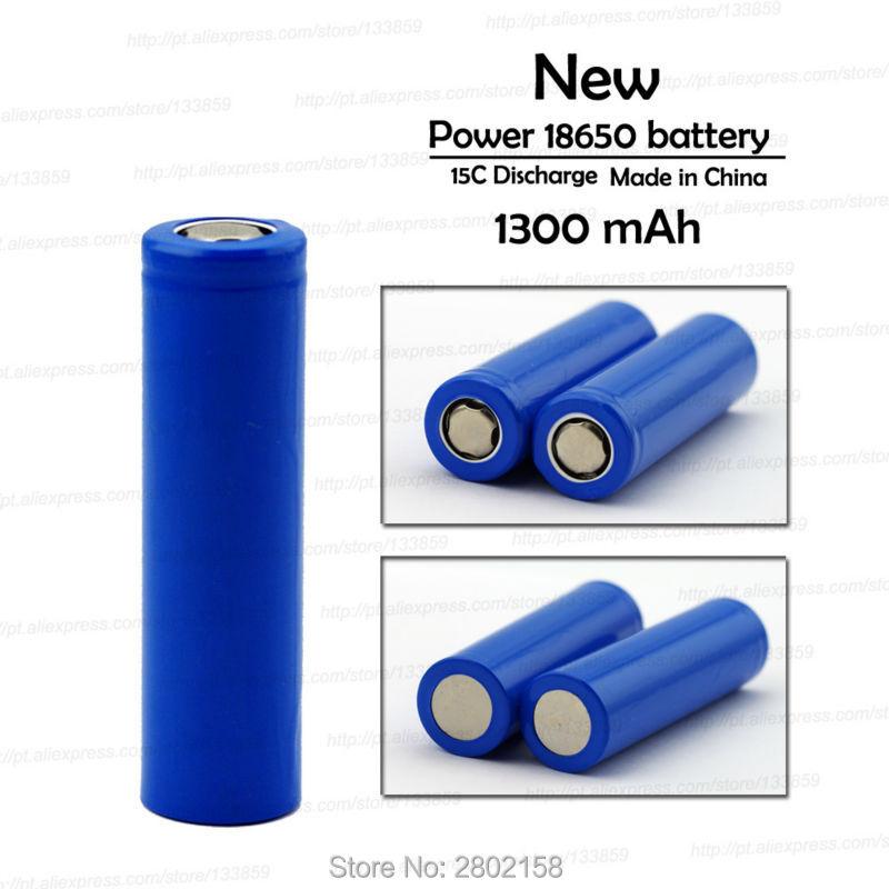 15 шт Бесплатная доставка 18650 1300 mah литиевая батарея 3,7 V мощный свет фонарик аккумуляторная батарея Защитная панель