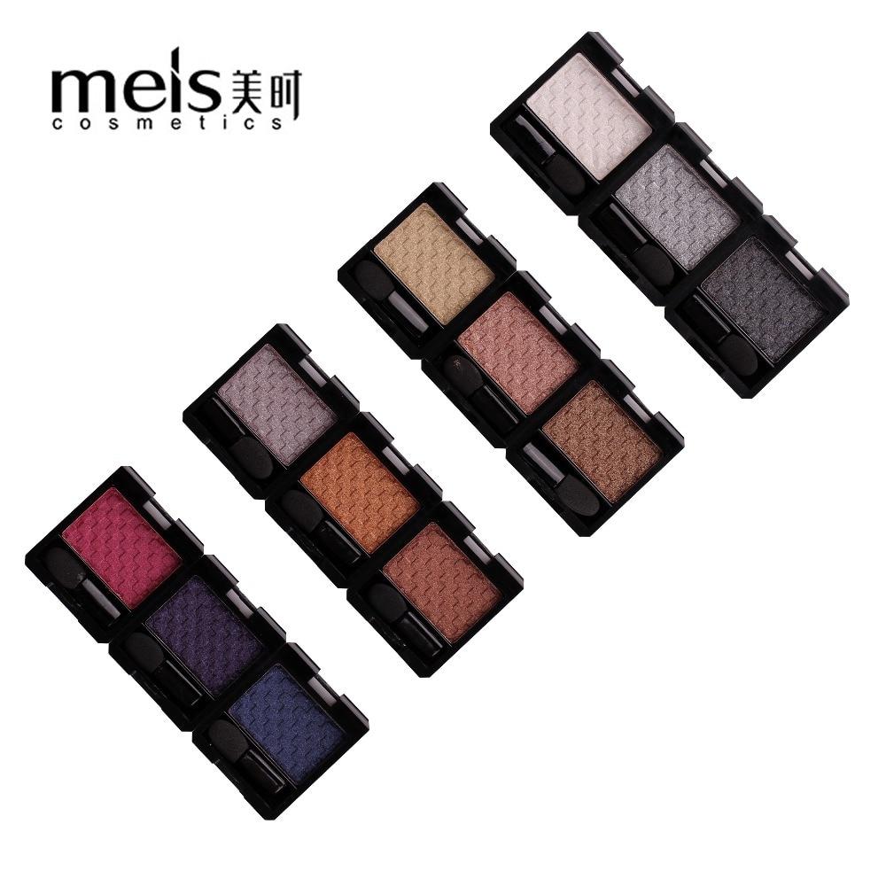 Maquillaje profesional marca MEIS paleta de sombra de ojos maquillaje profesional maquillaje sombra de ojos solo Color sombra de ojos paleta de belleza brillo de ojos MS 6101