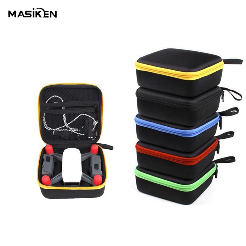 MASiKEN Mini EVA жесткий чехол для переноски сумка для DJI Spark Drone Quadcopter аксессуар сумка чехол для хранения коробка ручной чемодан
