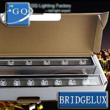 6  GUANGQI light 12W RGB warm white LED Wall Washer light with free shipping DMX512