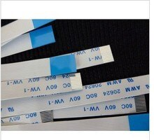 ÜCRETSIZ KARGO YENI 10 adet/grup Düz Şerit Flex Kablo 12pin HP DV6500t CTO DV6000 Serisi E118077 AWM 2896 80C VW-1