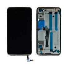 Для Alcatel Idol 4 6055P 6055U 6055B 6055 сенсорный экран дигитайзер ЖК-дисплей в сборе с рамкой Черный Бесплатная доставка