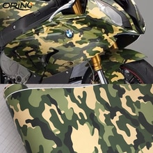 50cm x 300cm adhesivo ejército verde militar vinilo de camuflaje película selva camuflaje película protectora de coche Scooter pegatina de la motocicleta
