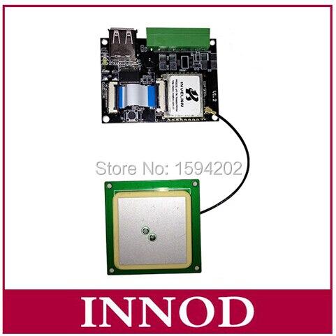 uhf epc rfid board module usb ttl rs232 / passive gen2 long range usb rfid uhf reader writer module + mini antenna ceramics