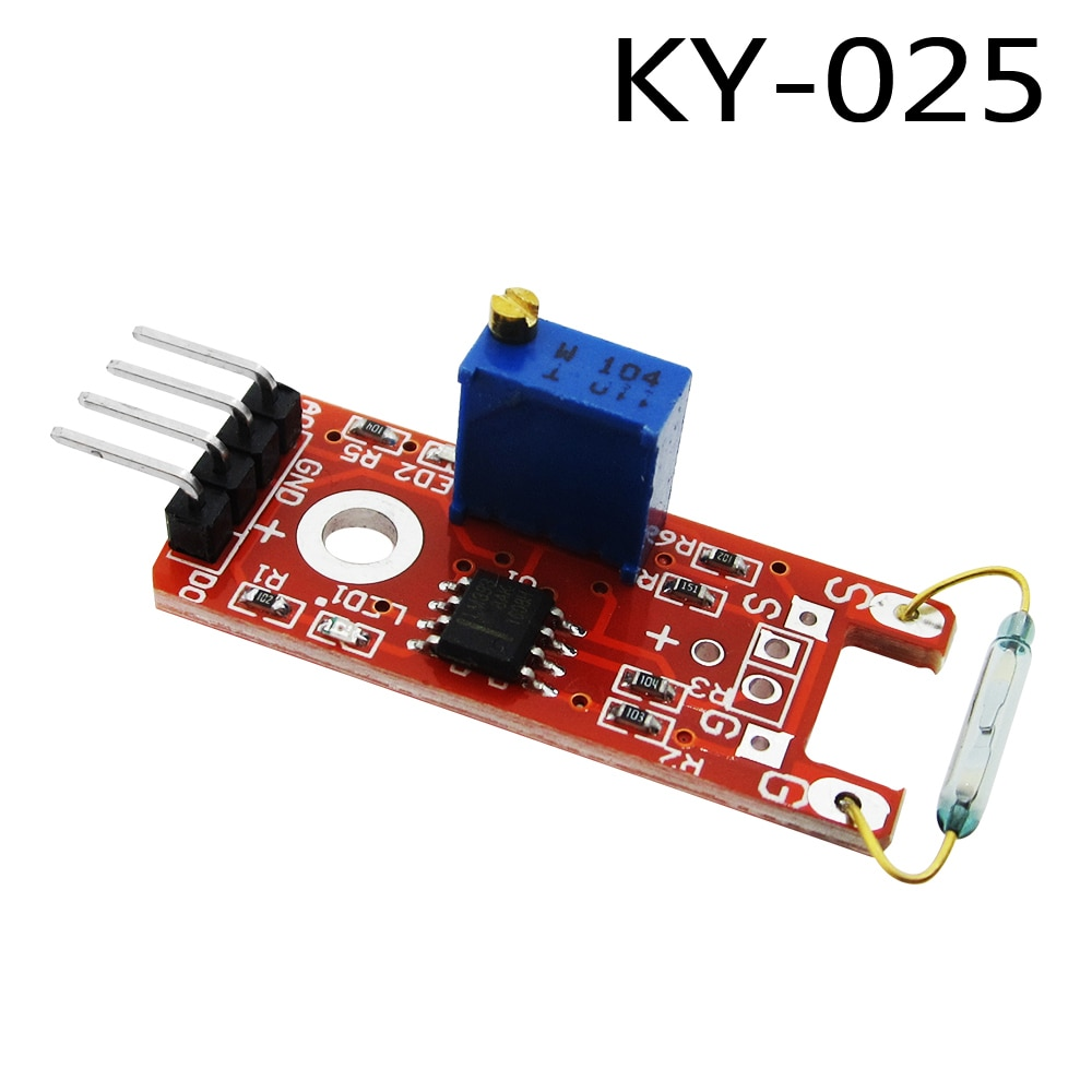 KY-025 4pin BETR Magnetic Dry Reed Pipe Switch Magnetron Sensor Module DIY KY-25